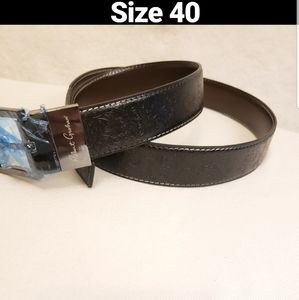 Robert Graham Garrison Reversible Belt sz 40 Mens